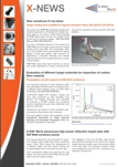 X-RAY WorX newsletter X-NEWS issue 11